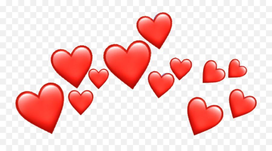 Hd - Black Hearts Emoji Png,Red Heart Emoji