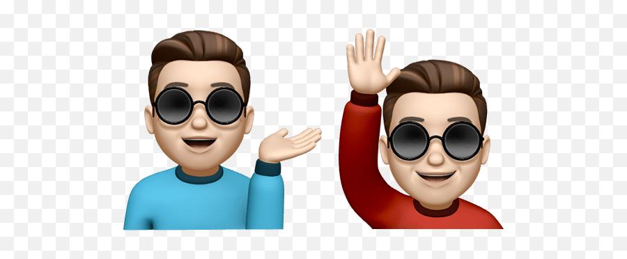 Como Trocar A Cor Da Camisa Do Memoji - Professor Do Iphone Happy,Emoticons Bonecas