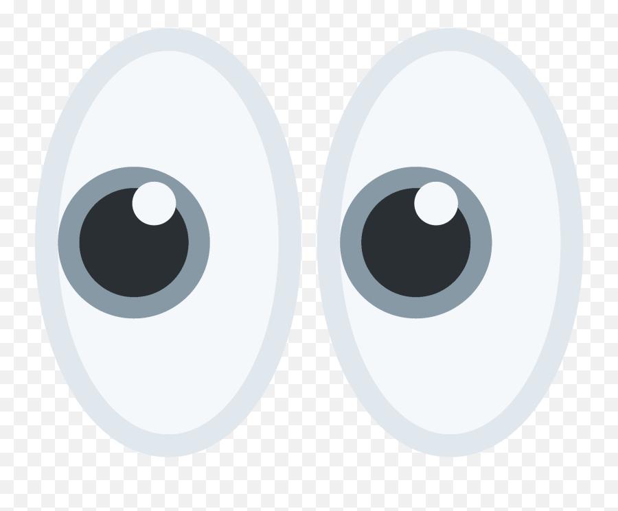 Eyes Emoji - Discord Eyes Emoji Transparent,Eyes Emoji