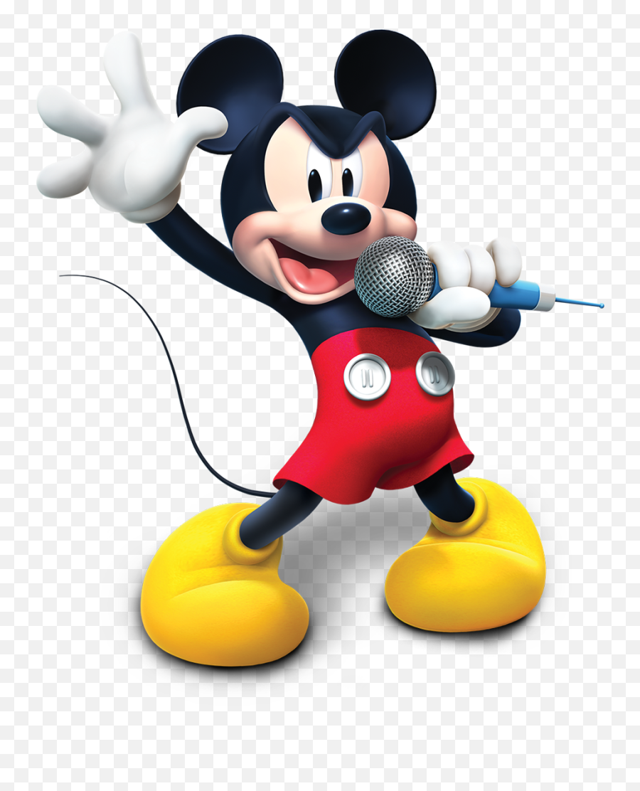 Mickey Mouse Clubhouse Sticker Book Disney Lol - Mickey Mouse Clubhouse On Png Emoji,Singing Emoji Clipart