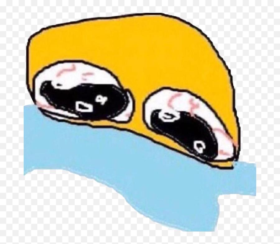 Emoji Emojis Emojisticker Sticker By Thelonelypizza - Cursed Cute Emojis Crying,Cursed Emoji Cry