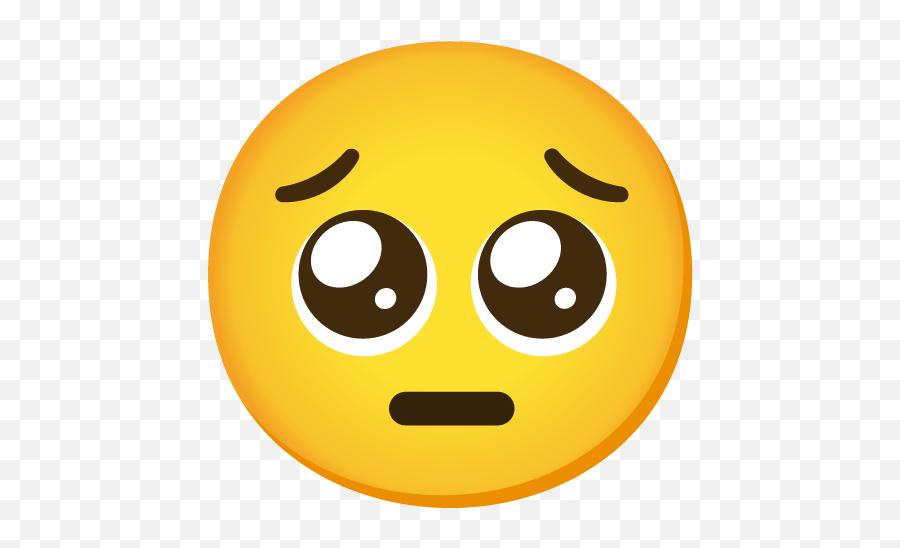 Pleading Face Emoji - Begging For Sex Emoji Meaning,Emoji Face