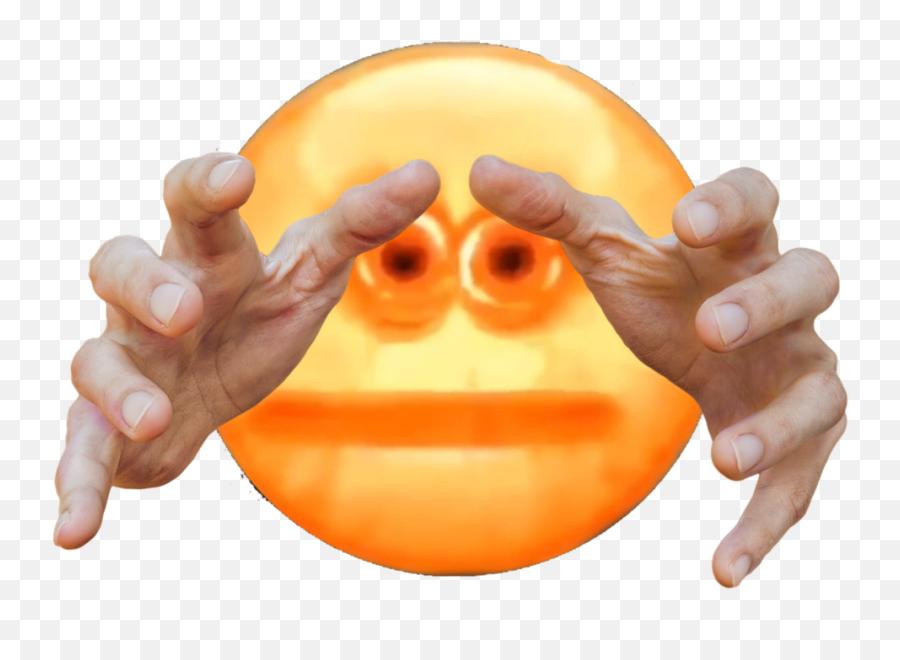 Grabbing Grabbingemoji Sticker - Vehicle Insurance,Cursed Emoji Hand