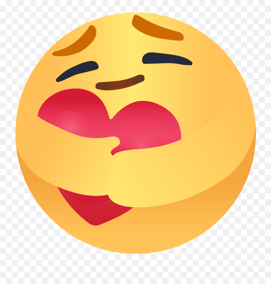 Fb Care Emoji Vector 01 - Caring Emoji Transparent Background,Facebook Emoji