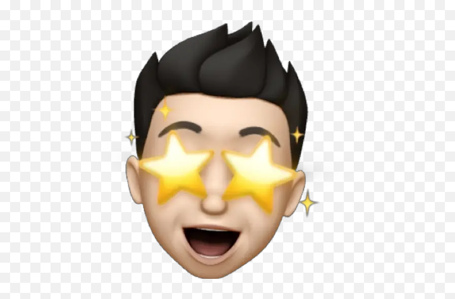 Memoji Troxx Stickers For Whatsapp - Memoji Boy Png Troxx,Yellow M Emoji